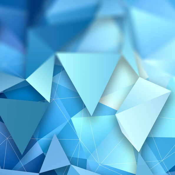 3D style abstract low poly design background